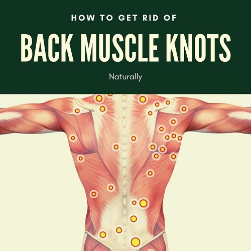 back muscle knots home treatments